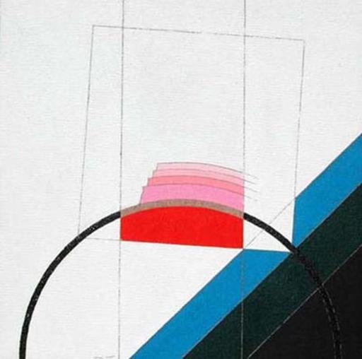 Eugenio CARMI - Painting - Memorie sul bianco 5