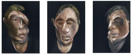 Francis BACON - Grabado - Trois études pour un autoportrait
