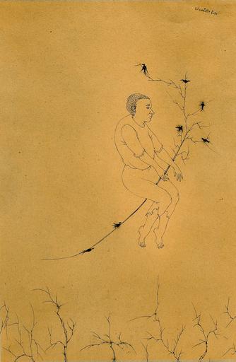 Enrico COLOMBOTTO ROSSO - Gemälde - Figura