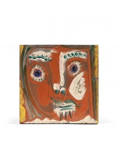 Pablo PICASSO - Keramiken - Visage de femme Pomone