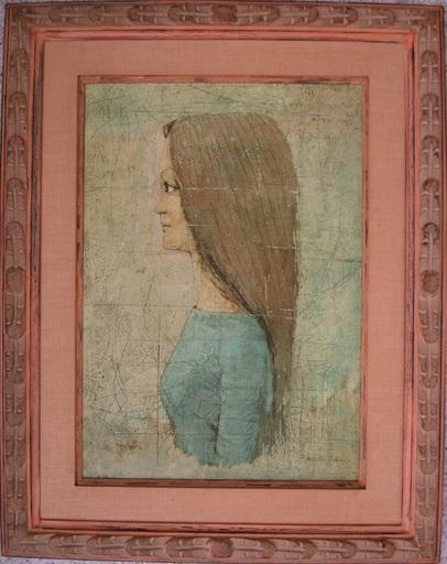 Ryonosuke FUKUI - Gemälde - Portrait of a young woman