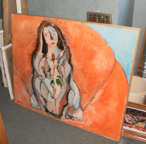 Bernard MOREL - Painting - INTIMITE