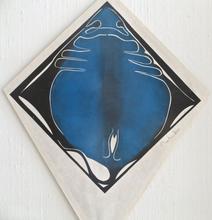 Francisco TOLEDO - Peinture - Blue sting ray kite