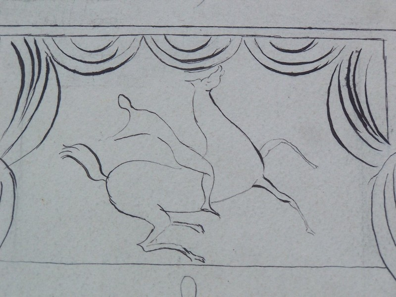 Serge FÉRAT - Drawing-Watercolor - The Jugglers