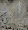 Ulpiano CHECA Y SANZ - Drawing-Watercolor - POLITICOS, CORRUPTORES…