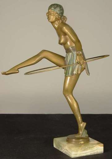 Bruno ZACH - Escultura - Hoop Dancer