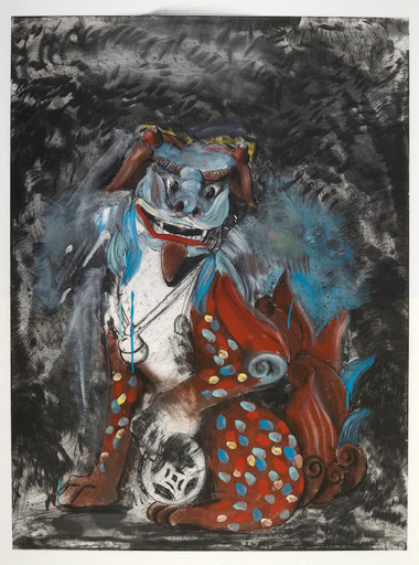 Jim DINE - Stampa-Multiplo - Fo dog in hell