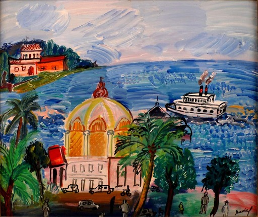 Carlos NADAL - Gemälde - Casino