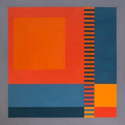 Guy DE LUSSIGNY - Peinture - Réf : 105 M III