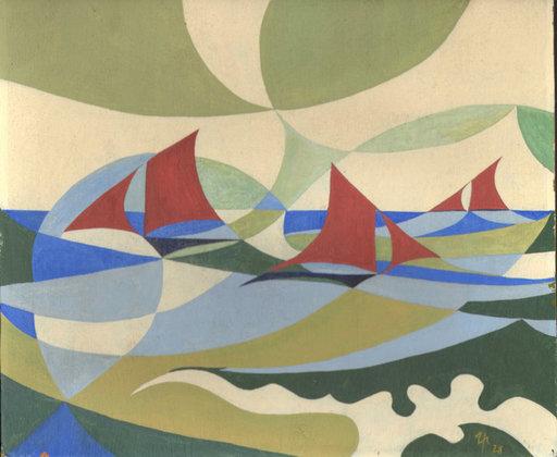Thilo MAATSCH - Pittura - Segelboote