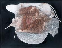 Fred DEUX - Drawing-Watercolor - Celui qui n'en revenait pas
