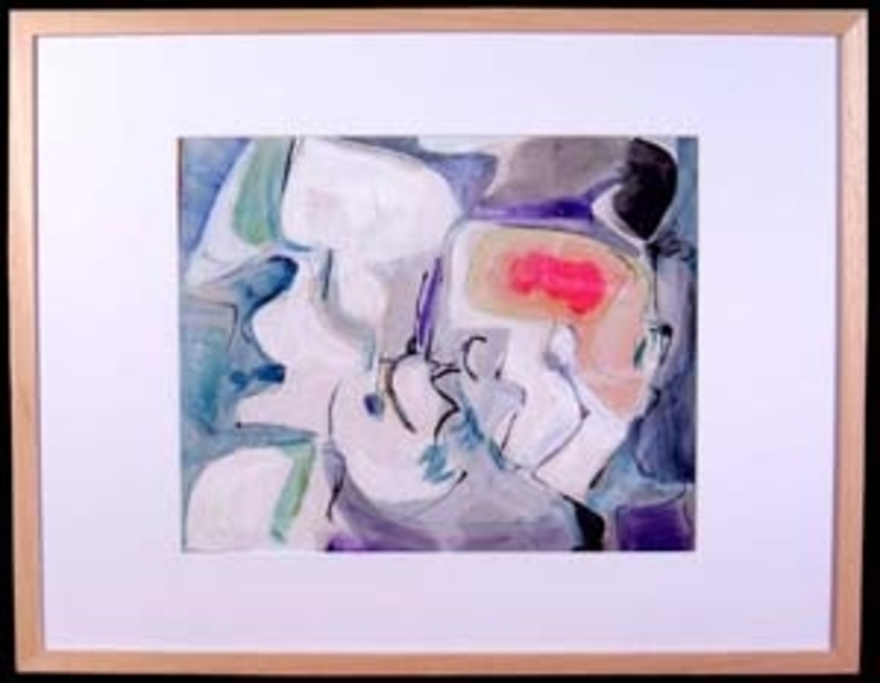 Grace RENZI - Painting - Abstraction 3