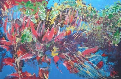 Peny MANAVI - Gemälde - Cactus 8