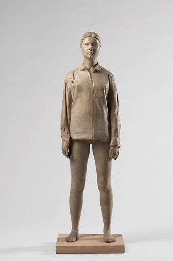 Giuseppe BERGOMI - Sculpture-Volume - Vale con camicia
