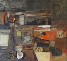 Heinrich SIEPMANN - Peinture - Collage 59