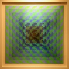 Victor VASARELY - Stampa Multiplo - IX-Pos
