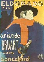 Henri DE TOULOUSE-LAUTREC (1864-1901) - Eldorado: Aristide Bruant
