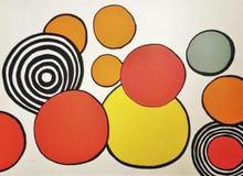 Alexander CALDER (1898-1976) - Composition aux Cercles
