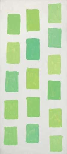 Mario NIGRO - Gemälde - Meditazione N°13