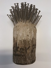 Günther UECKER - Sculpture-Volume - Nagelbaum