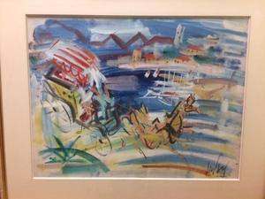 GEN PAUL - Painting - Horse & Buggy