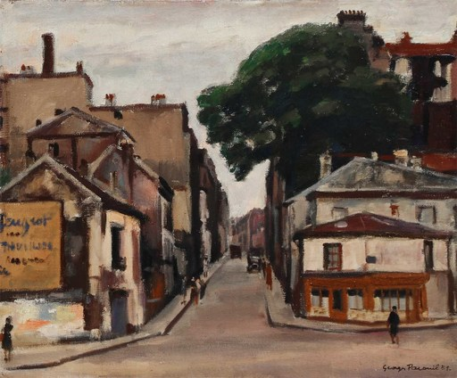 Georges PACOUIL - Painting - Paris 1951