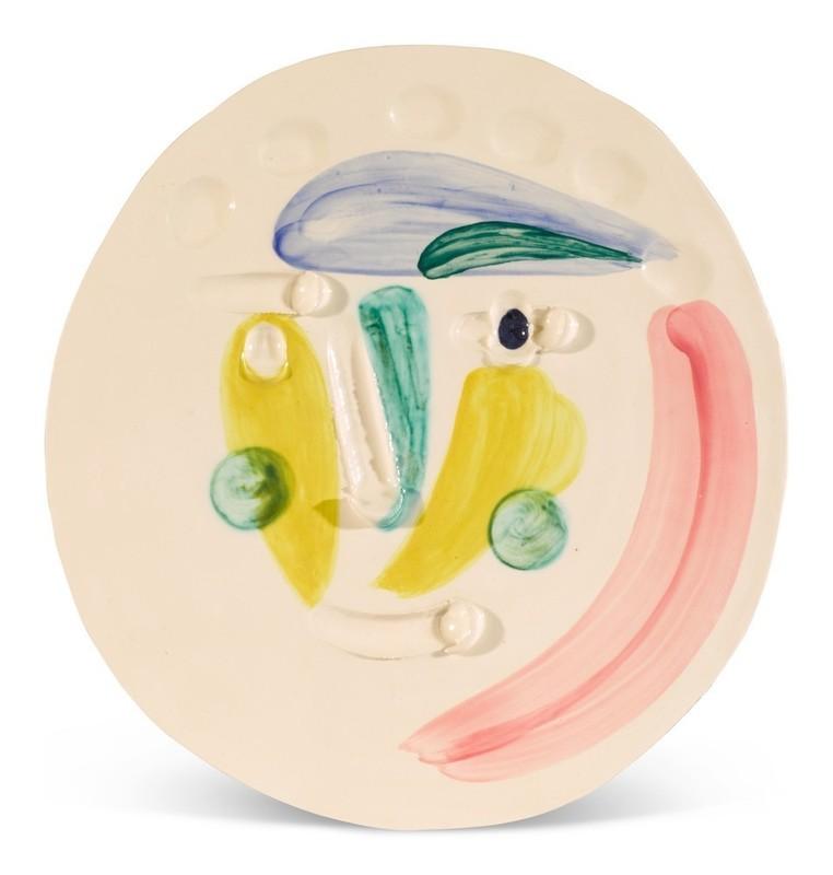Pablo PICASSO - Ceramic - Tête