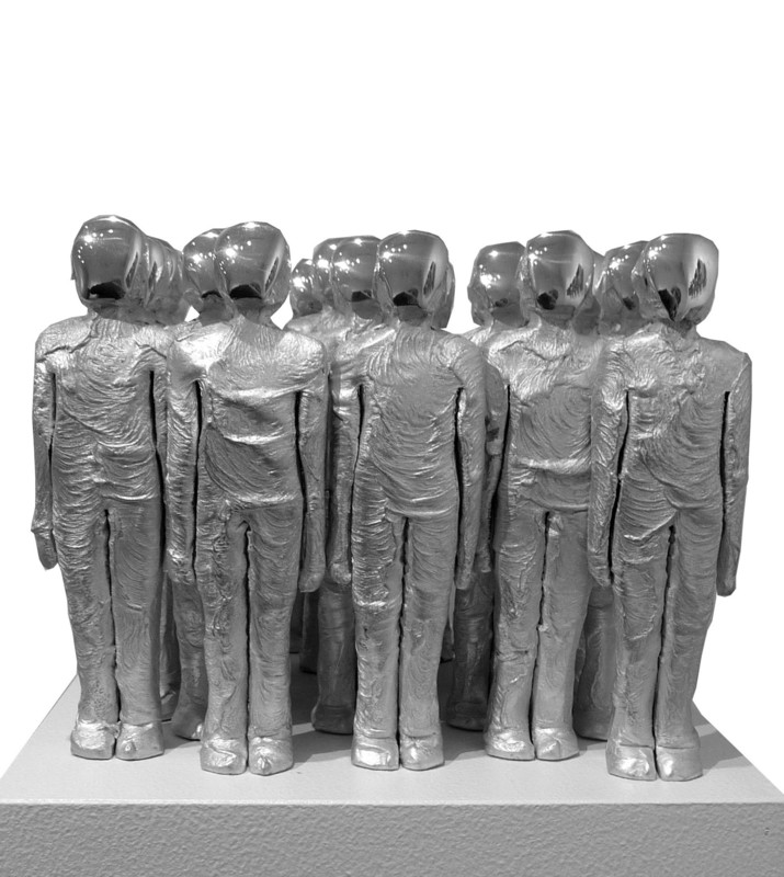 Marcus EGLI - Sculpture-Volume - Bloc-25