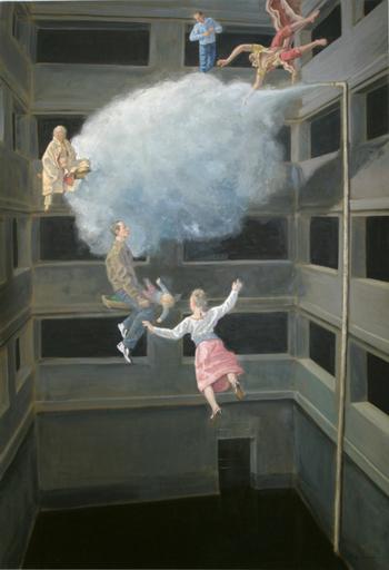 Rolf KUHLMANN - Painting - Gedenkstätte