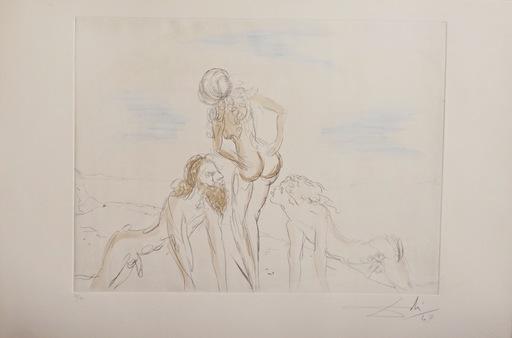 萨尔瓦多·达利 - 版画 - Circe