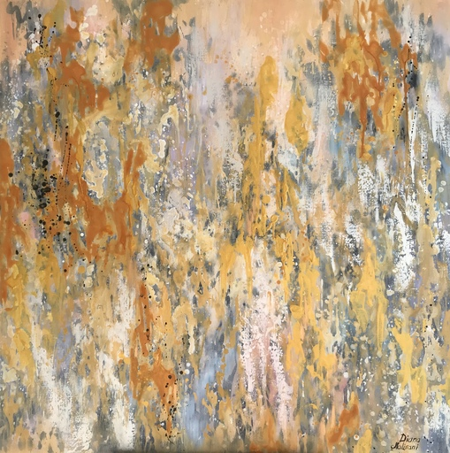 Diana MALIVANI - Pintura - The Song of the Rain