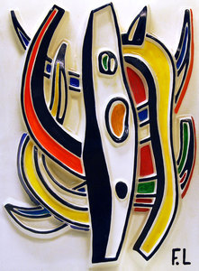 Fernand LÉGER, Abstract Composition