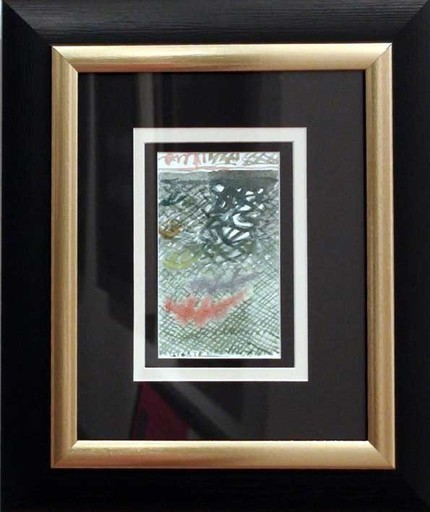 Riccardo LICATA - Zeichnung Aquarell - Senza titolo 2005
