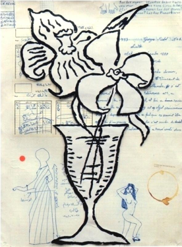 Donald BAECHLER - Print-Multiple - Flowers