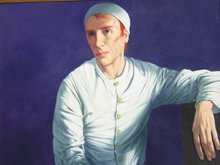 Michel CIRY - Pintura - Le mime