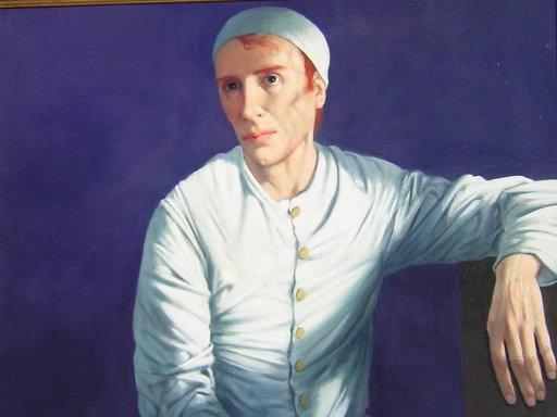 Michel CIRY - Pittura - Le mime