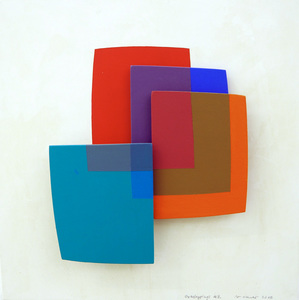 Dora MAURER - Pintura - Overlapping