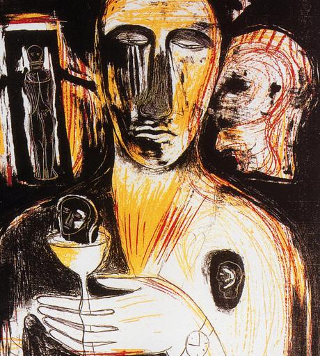 米莫·帕拉迪诺 - 版画 - Come en Uno Specchio