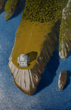 Julio LARRAZ - Painting - A Walk with Homer