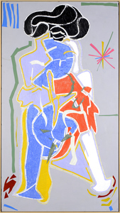 Christian BONNEFOI - Drawing-Watercolor - La visite n°8