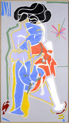 Christian BONNEFOI - Disegno Acquarello - La visite n°8