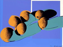 Andy WARHOL (1928-1987) - Cantaloupes, from Space Fruit: Still Lifes
