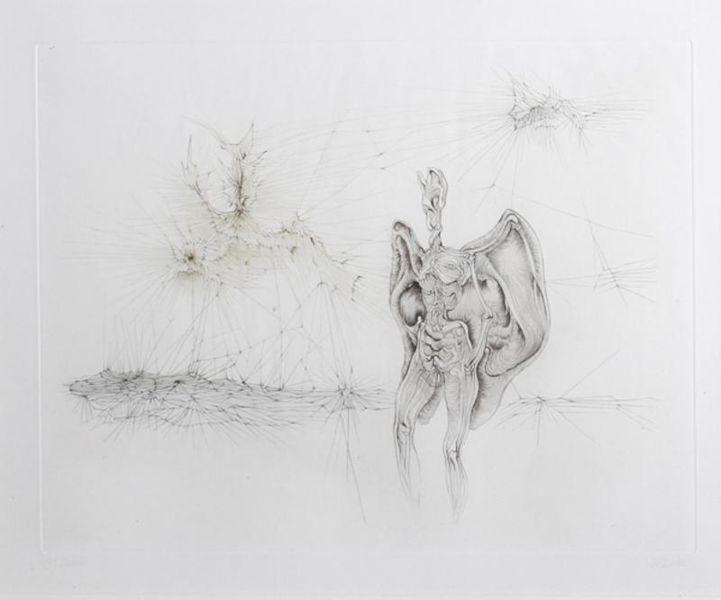 Hans BELLMER - Grabado - untitled