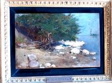 Lajos DEAK-EBNER - Painting - Landscape