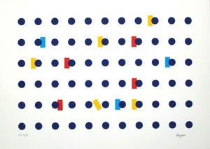 Yaacov AGAM - Grabado - Composition