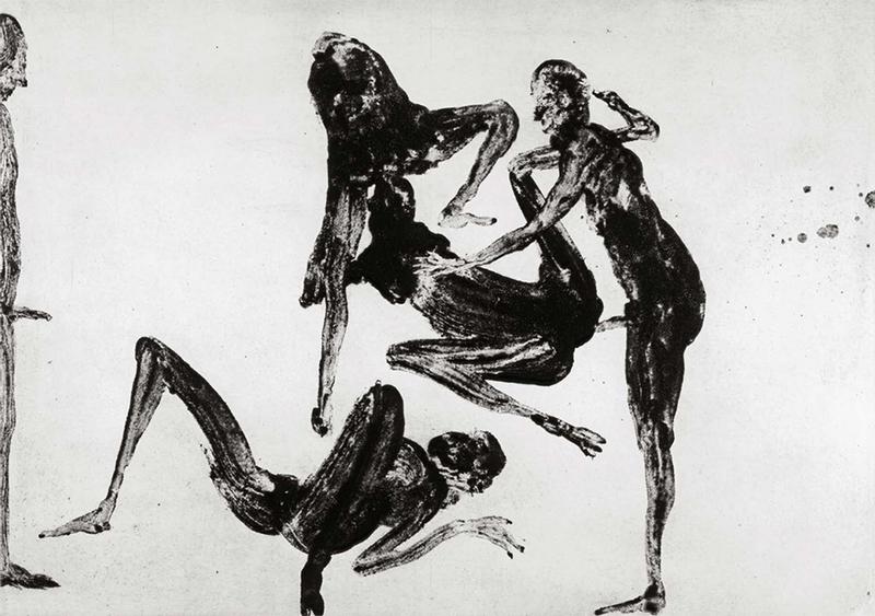 Miquel BARCELO - Print-Multiple - Lanzarote 31 Serie Pornografica V