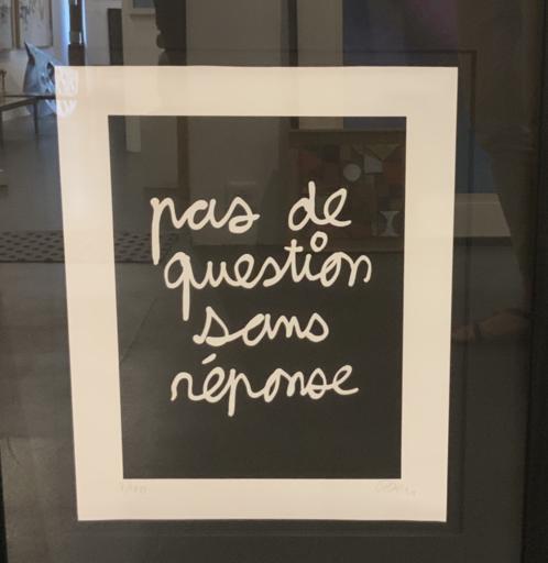 BEN - Druckgrafik-Multiple - Pas de questions sans reponse