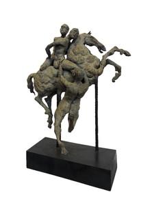 Val CARR-ORTOLAN - Sculpture-Volume - La guerre de Troie vue de demain