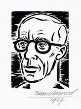 Frans MASEREEL - Print-Multiple - Selbstbildnis