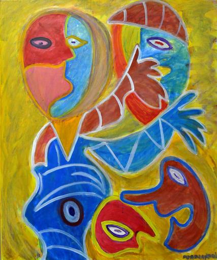 Painting - Meisje voor spiegel (4311)